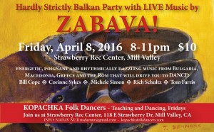 Kopachka Spring 2016 Party